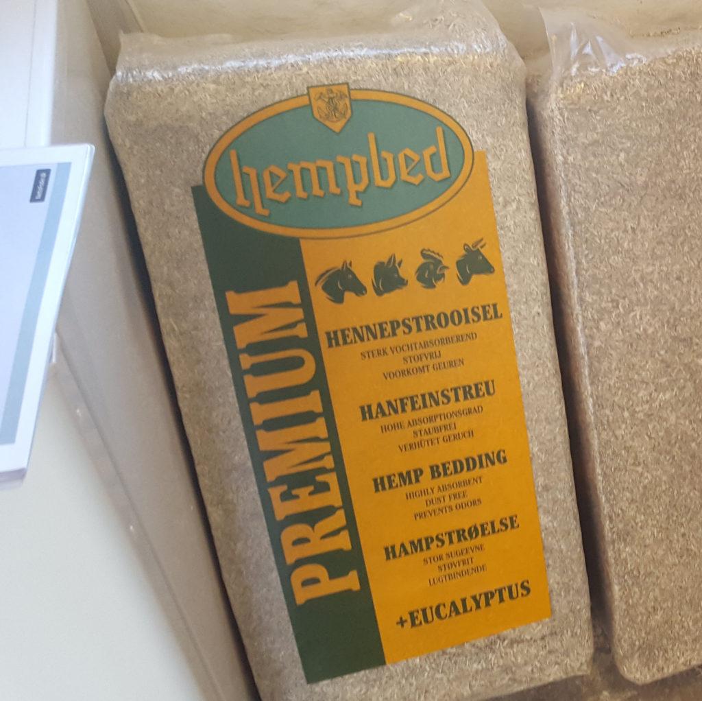 Hampestrøelse (med eukalyptus)