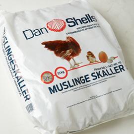15 kg Skaller (knust)