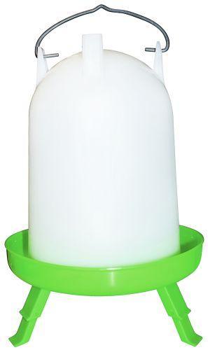 Cylinder vander grøn med ben 4 ltr