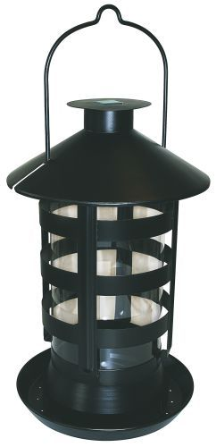 Fuglefoderautomat med LED lys